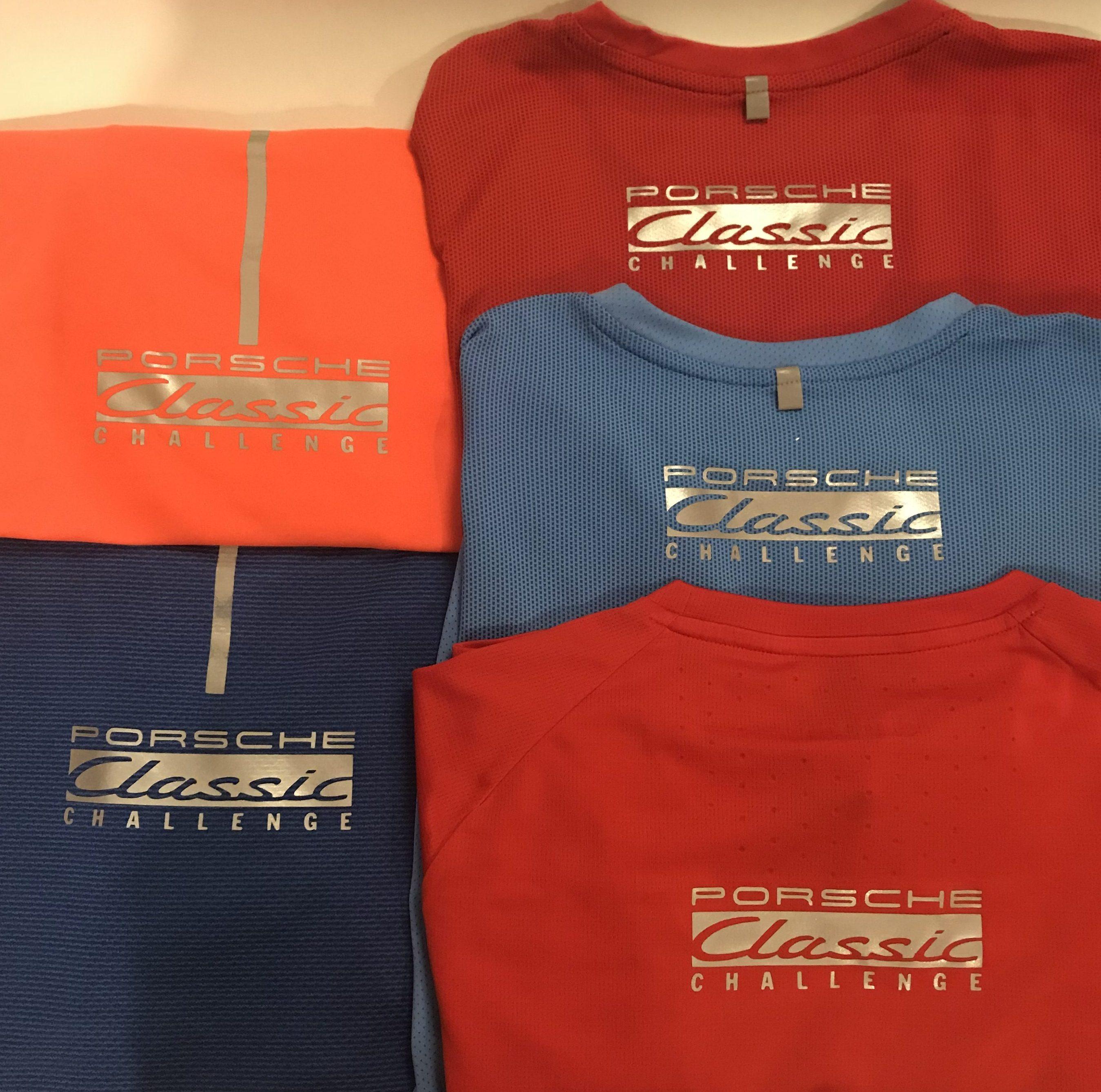 Porsche Classic Challenge borduren op kleding