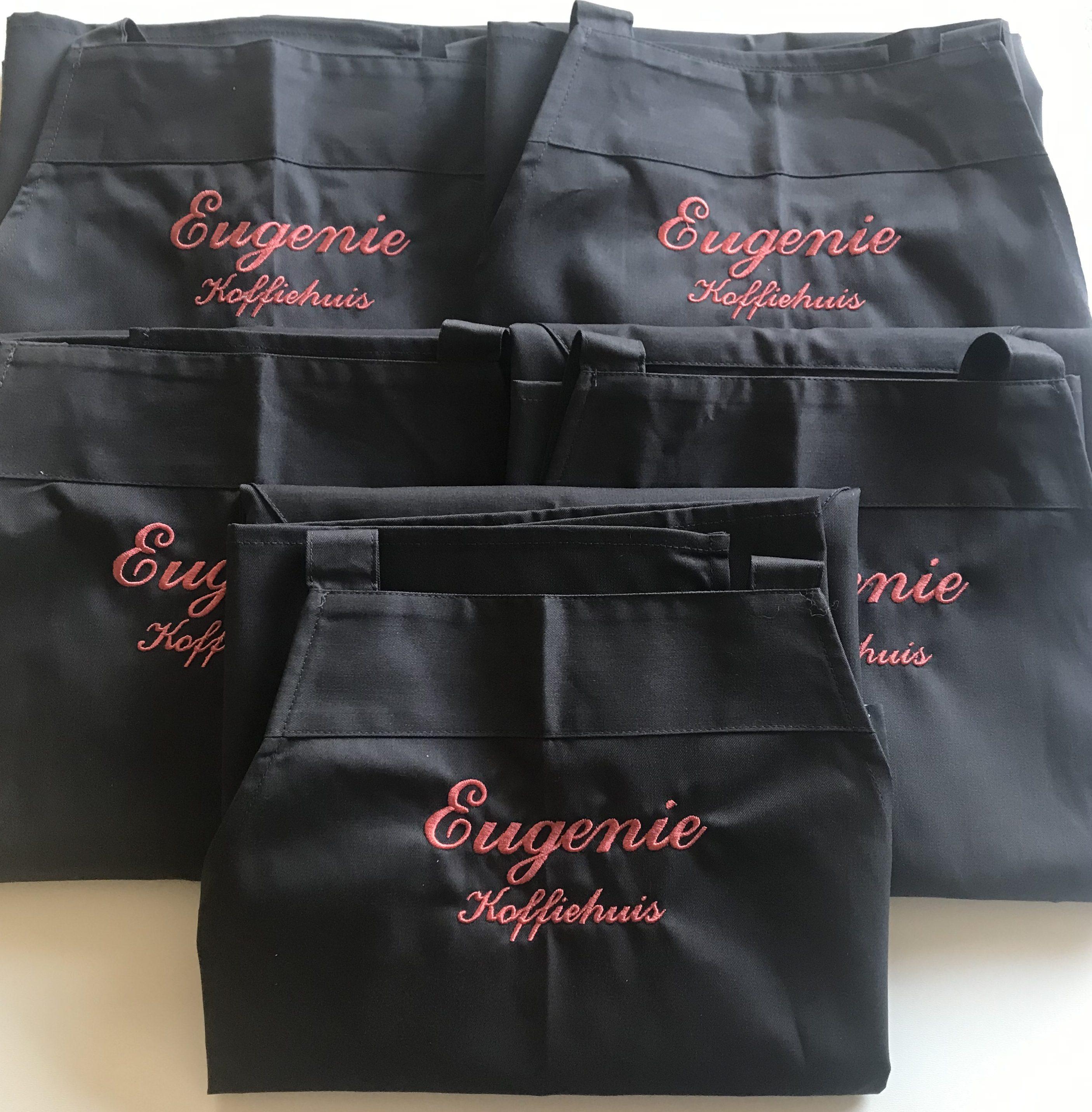 Eugenie Koffiehuis borduren op kleding