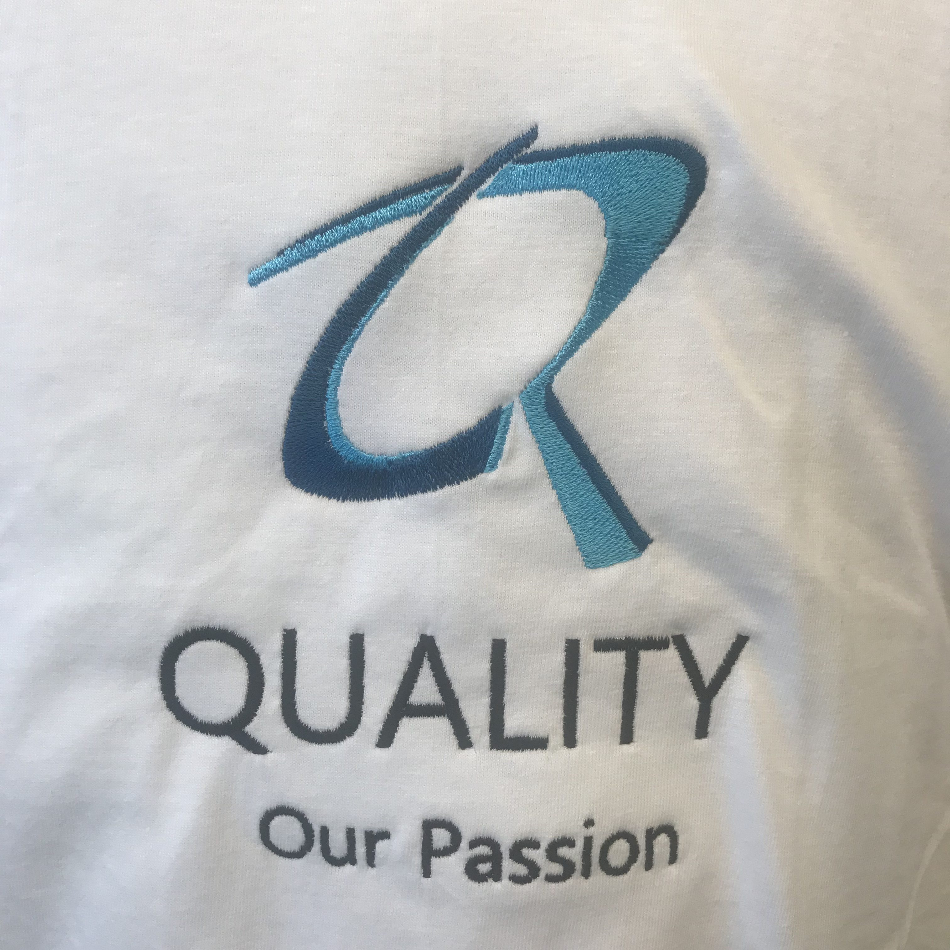 Rudi Leys Accountant borduren op kleding