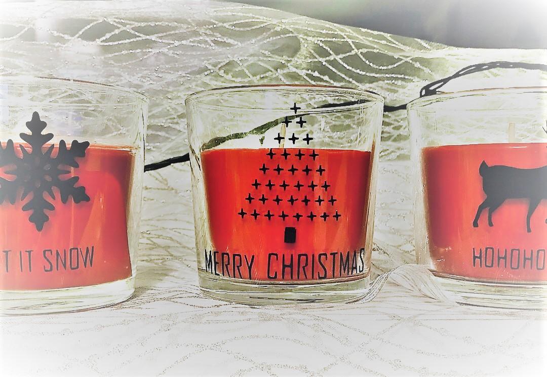 kerst glazen potjes 1